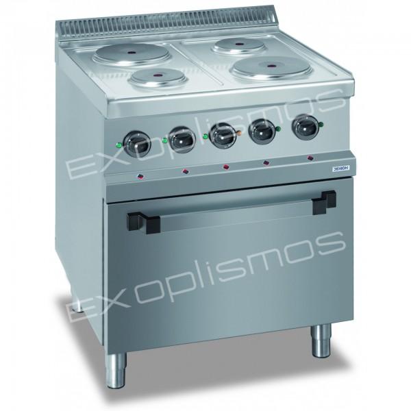 Επαγγελματικές Κουζίνες Ηλεκτρικές